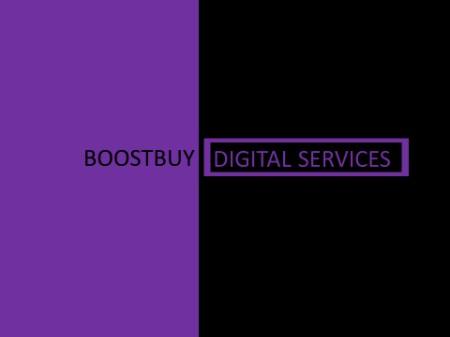 Boostbuy Digital services