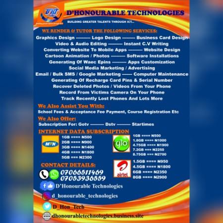 D'Honourable Technologies