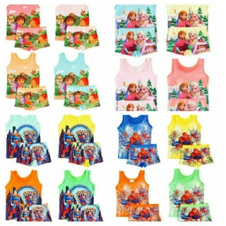 3D Cartoon Character Vest And Pant.