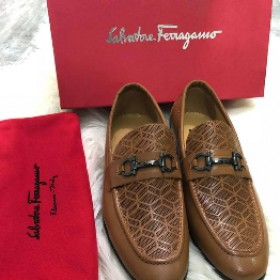 Salvador Feragamo Classy Executive Loafer Brown