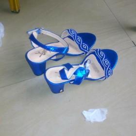 Fine Blue Female Heels