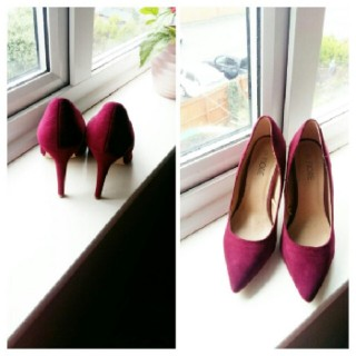 Off Blood Heel Shoe.