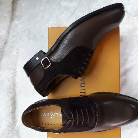 Louis Vutton Classy Italian Oxford Shoe Brown