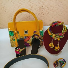Ankara Bags and Shoes