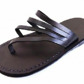 Black Pam Slippers For Men