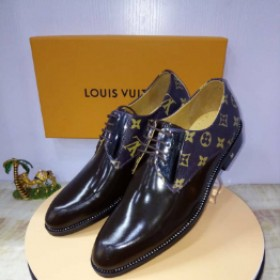 Black Talian Louis Vulton Lace Up Shoe