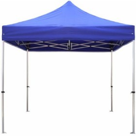 Portable  Foldable Gazebo Pop Up Tent Canopy - Blue