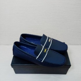 Mens Classy Executive Prada Loafer Blue