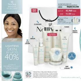 Oriflame NovAge Bright Sublime Skin Care Range