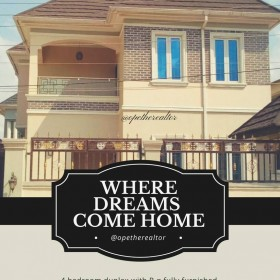 4 Bedroom Duplex With B.q Fully Furnished