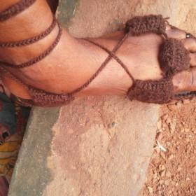 Wool Sandals