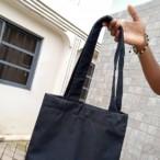 Black Tote Bag (Customizable)