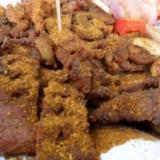 Garnished Beef Suya