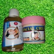 One week face whitening/treatment kit