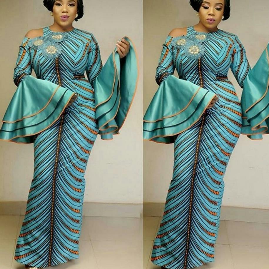 Long Ankara Gown