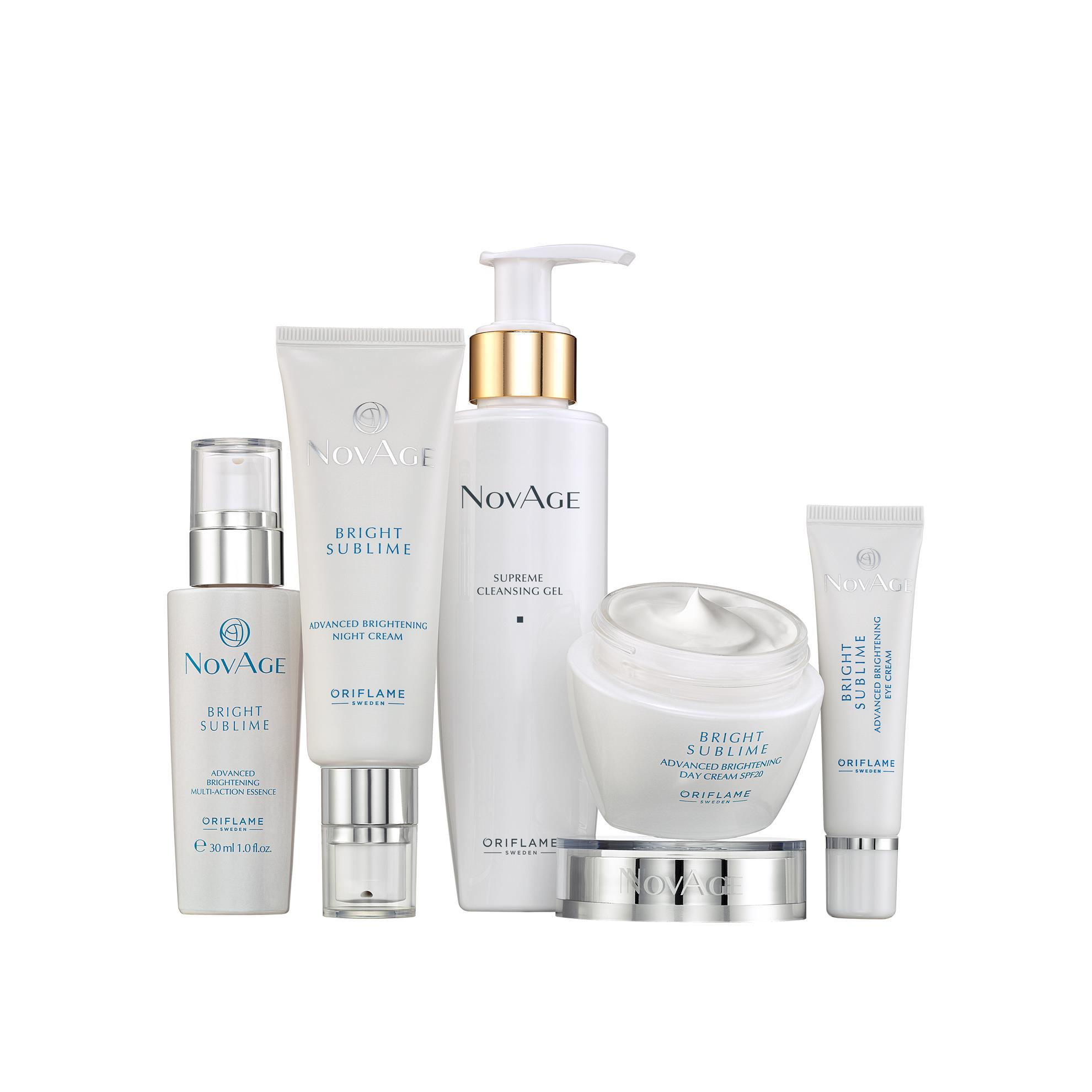 Oriflame Bright Sublime Products