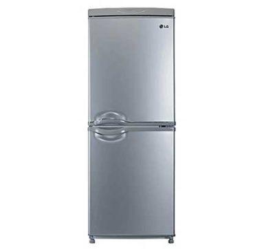 LG-Refrigerator-With-Bottom-Freezer-REF269-Silver