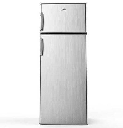 Syinix Litres Double Door Refrigerator FDBF Silver x