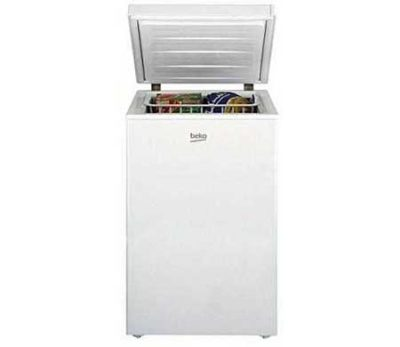 White Chest Freezer made by Beko Company