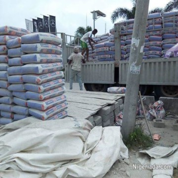 how much is cement in Nigeria