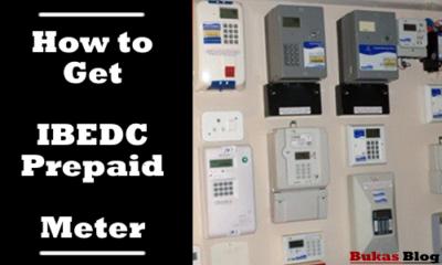 IBEDC Prepaid Meter form
