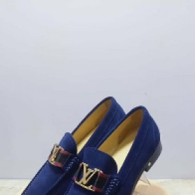 Blue Louis Viutton Corporate Shoe