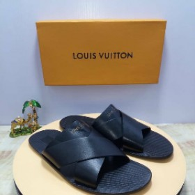 OBED'S WARDBROBE   Louis Vuitton Italian Leather Slippers