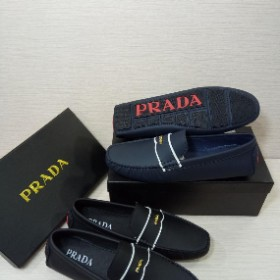 Mens Classy Executive Prada Loafer Combo