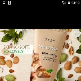 Oriflame sweden   Lovr Nature Almond Cream