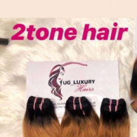 Ug_luxuryhairs   2Tone Double Drawn Hair