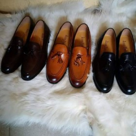 3 Set Mens Exotic Hi-class Formal Oxford Loafer Shoe