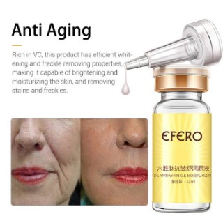 Efero Six Peptide Anti Aging Anti Wrinkle Face Serum