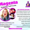 Magenta surprises and event