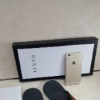 OBED'S WARDBROBE  Premium Gucci Italian Executive Leather Slippers Black