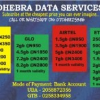 Dhebra-World Nig. Enterprises  Mtn Data