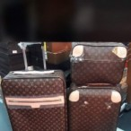 OBED'S WARDBROBE  Premium LOUIS VUITTON Complete Set Luxury Bags Brown