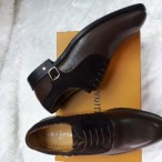 OBED'S WARDBROBE  Louis Vutton Classy Italian Oxford Shoe Brown
