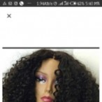Sylva hair palace  Kinky Wig Wit Closure