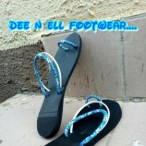 Dee n ell footwear and fashion trends  Dee N Ell Blue Ice Pam