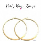 Goldbeaute fashion  Party Hoop Large