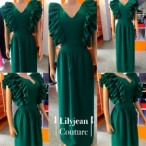 LILYJEAN COUTURE  Stare Dress By LJC