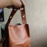 mok collections  Leather Bag