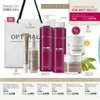 Busy hands concept  Oriflame Optimal Revive Skin Care Range